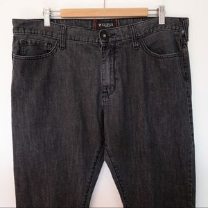 Guess Men Size 38x34 Jeans Slim Straight